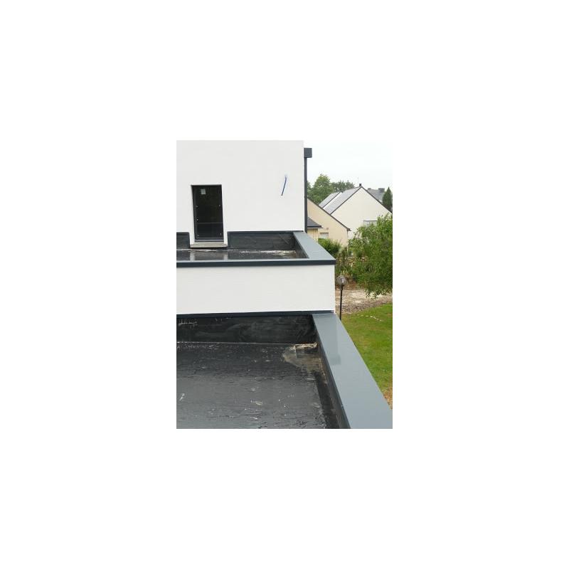 couvertines alu 10 10e pour acrot res de toit terrasse. Black Bedroom Furniture Sets. Home Design Ideas