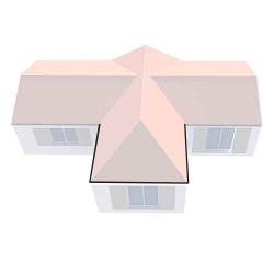 Kit complet Gouttière - 2 angles extérieurs