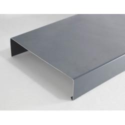 Couvertines Alu 10/10e pour acrotères de toit terrasse